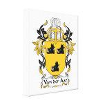 Escudo de la familia de Aar del der de Van Lienzo Envuelto Para Galerias