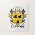 Escudo de la familia de Aar del der de Van Rompecabezas Con Fotos