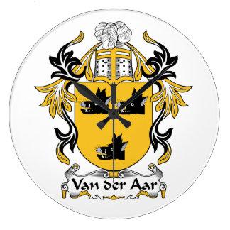 Escudo de la familia de Aar del der de Van Relojes De Pared