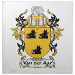 Escudo de la familia de Aar del der de Van Servilletas De Papel
