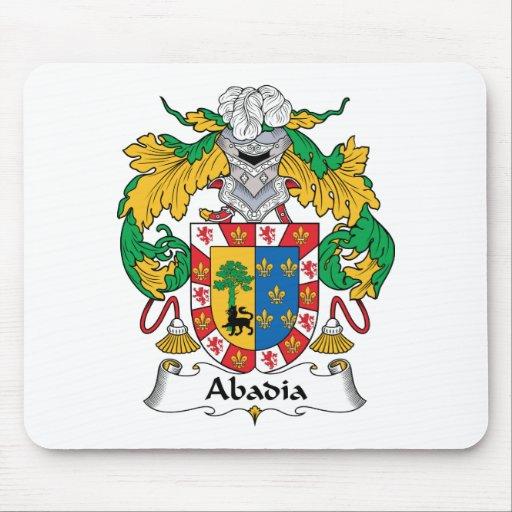 Escudo de la familia de Abadia Alfombrillas De Ratón