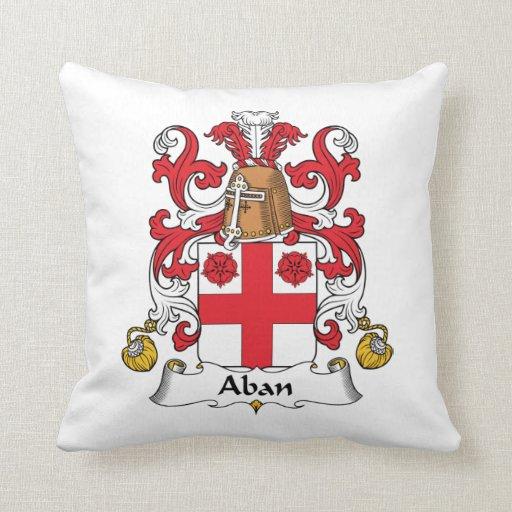 Escudo de la familia de Aban Almohada
