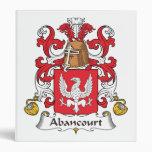 Escudo de la familia de Abancourt