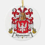 Escudo de la familia de Abancourt Adorno Para Reyes