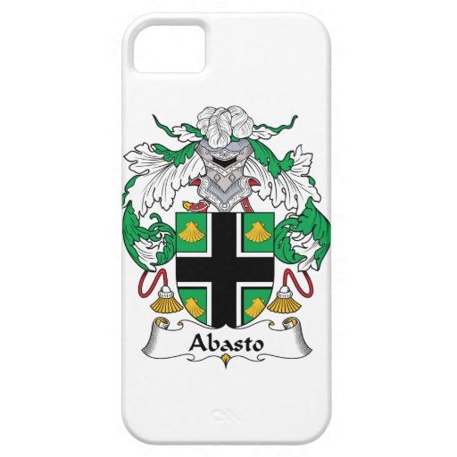 Escudo de la familia de Abasto iPhone 5 Cárcasas