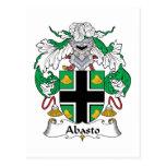 Escudo de la familia de Abasto Postal