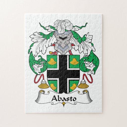 Escudo de la familia de Abasto Rompecabezas