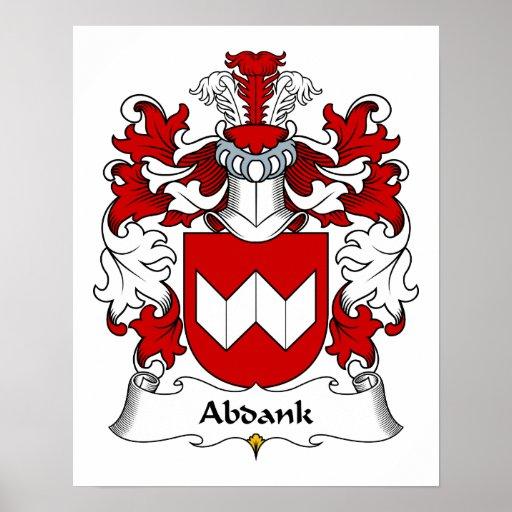 Escudo de la familia de Abdank Impresiones