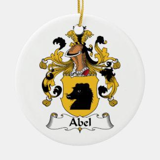 Escudo de la familia de Abel Ornamentos De Reyes Magos
