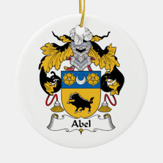 Escudo de la familia de Abel Ornamentos Para Reyes Magos