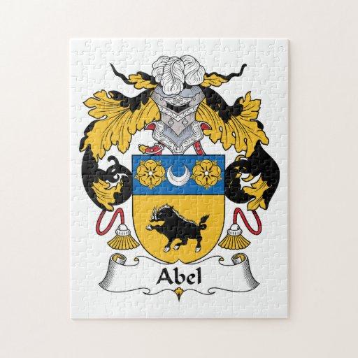 Escudo de la familia de Abel Puzzles Con Fotos