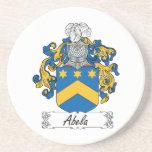 Escudo de la familia de Abela Posavasos Personalizados