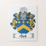 Escudo de la familia de Abela Puzzles