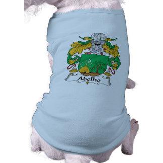 Escudo de la familia de Abelho Camisa De Perro