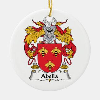 Escudo de la familia de Abella Ornamente De Reyes