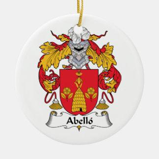 Escudo de la familia de Abello Adorno De Reyes