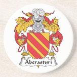 Escudo de la familia de Aberasturi Posavaso Para Bebida