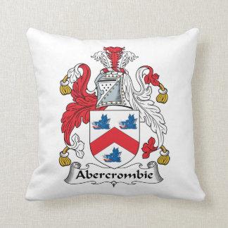 Escudo de la familia de Abercrombie Almohadas