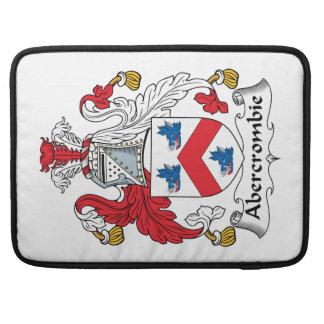 Escudo de la familia de Abercrombie Fundas Para Macbook Pro