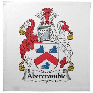 Escudo de la familia de Abercrombie Servilletas