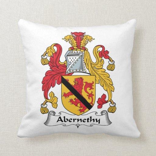 Escudo de la familia de Abernethy Almohada