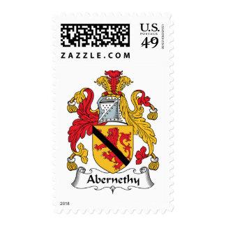Escudo de la familia de Abernethy Sello