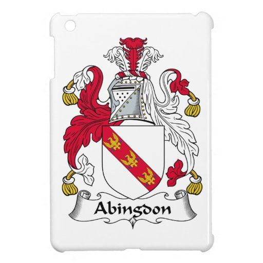 Escudo de la familia de Abingdon iPad Mini Cobertura
