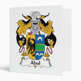 "Escudo de la familia de Abul Carpeta 1"""