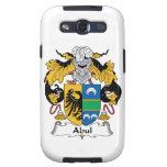 Escudo de la familia de Abul Galaxy S3 Fundas
