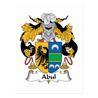 Escudo de la familia de Abul Postal