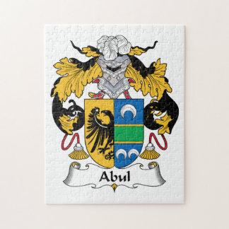 Escudo de la familia de Abul Puzzles