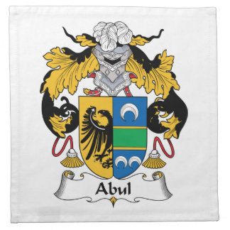 Escudo de la familia de Abul Servilletas De Papel