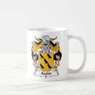 Escudo de la familia de Acedo Taza De Café