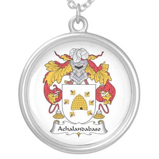 Escudo de la familia de Achalandabaso Joyeria