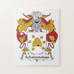 Escudo de la familia de Achalandabaso Puzzles