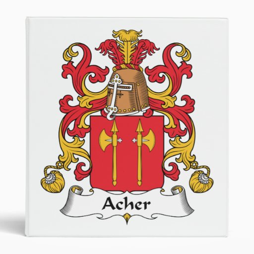 Escudo de la familia de Acher