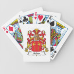 Escudo de la familia de Acher Baraja Cartas De Poker