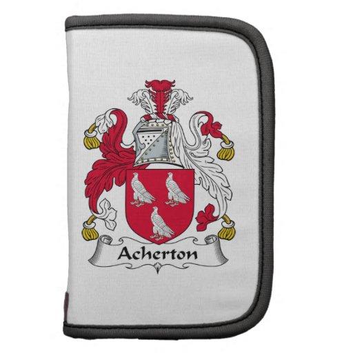 Escudo de la familia de Acherton Planificadores