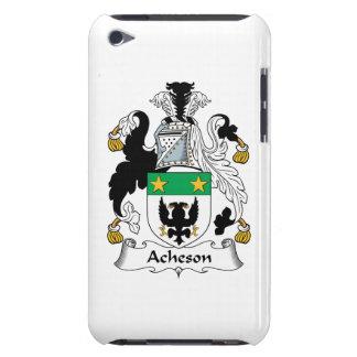Escudo de la familia de Acheson Barely There iPod Carcasas