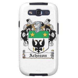 Escudo de la familia de Acheson Samsung Galaxy S3 Carcasas
