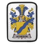 Escudo de la familia de Acheson Fundas Para iPads