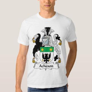 Escudo de la familia de Acheson Playeras