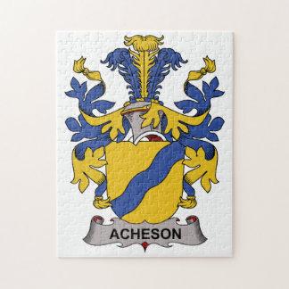 Escudo de la familia de Acheson Rompecabezas Con Fotos