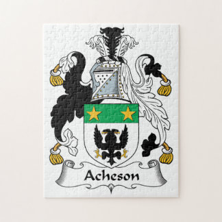 Escudo de la familia de Acheson Rompecabezas