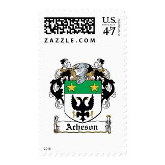Escudo de la familia de Acheson Sello