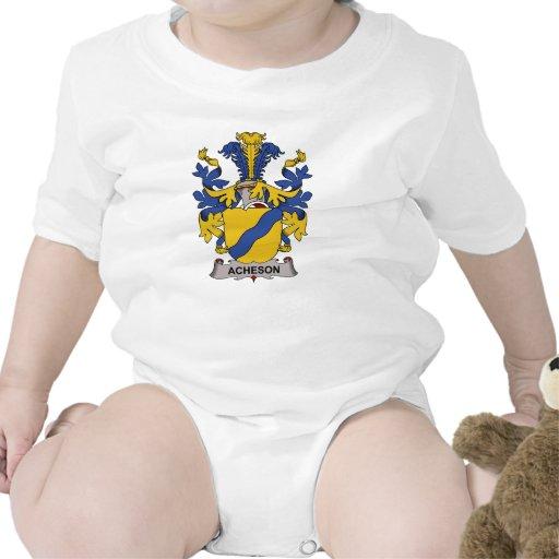 Escudo de la familia de Acheson Traje De Bebé