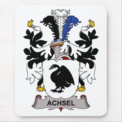 Escudo de la familia de Achsel Alfombrilla De Ratones