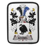 Escudo de la familia de Achsel Funda Para iPads