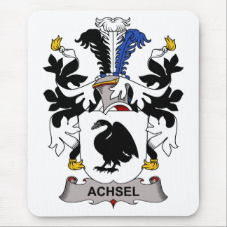 Escudo de la familia de Achsel Alfombrillas De Ratones
