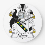Escudo de la familia de Ackers Reloj